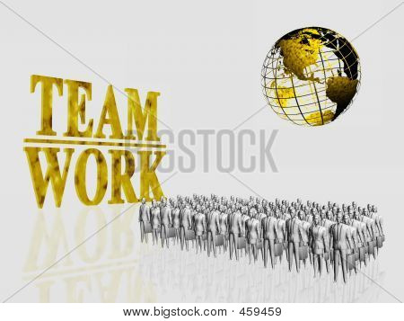 Global Team Workers.