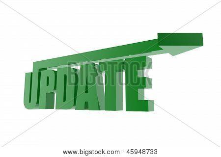 Green Update Symbol