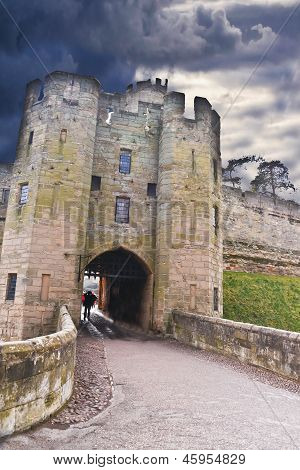 Gate to Warwick Castle