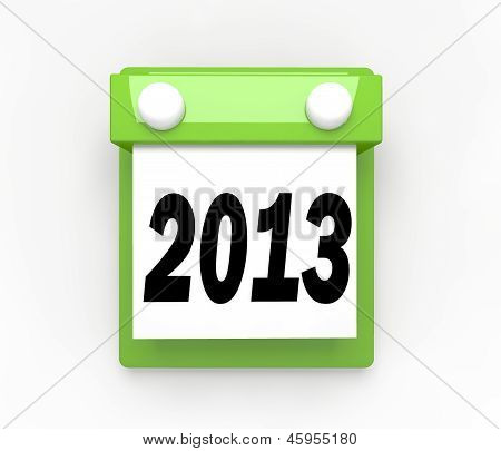 New Year Date Day on Calendar Holiday Schedule