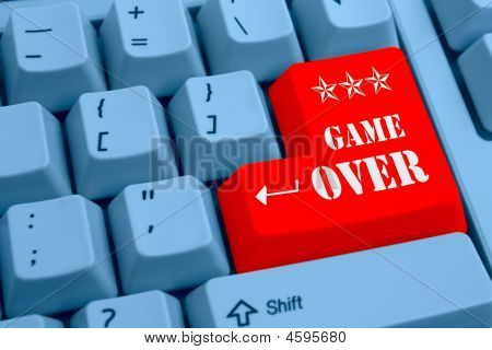 Special Keyboard - Game Over