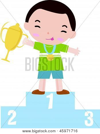 Cute kid Medal