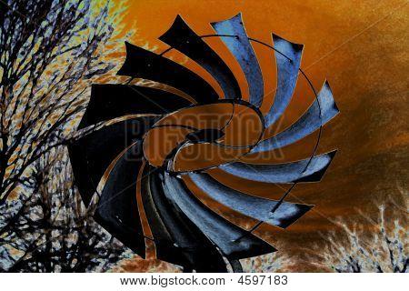 Post Atomic Windmill