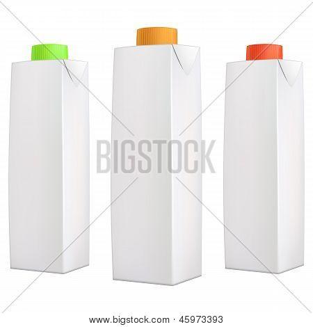 Сок пакеты с крышкой цвета