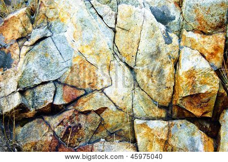 Текстура природного камня рок
