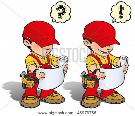 Handyman - Reading Plan Red