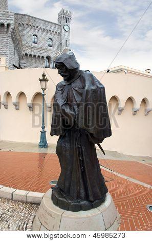 Monaco - Statue Of Grimaldi