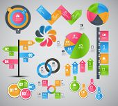 Infographic template business vector illustration. This is file of EPS10 format. poster