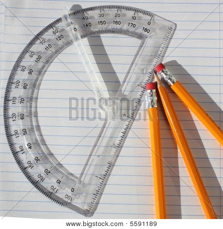 Pencils and Protrator