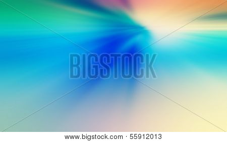 Tropical sky and ocean, Abstract ocean sunrise background, Abstract natural blur serene background with sky and ocean water surface divided by the horizon line poster