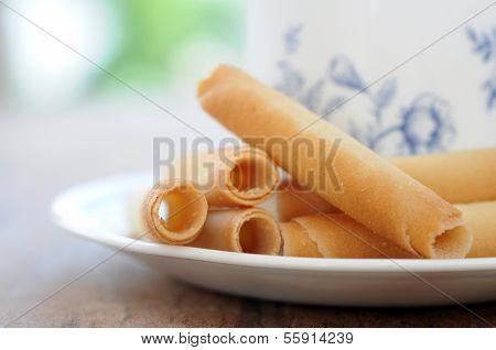 Waffle Roll