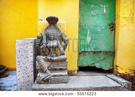 Indian Stone Goddess