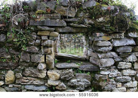 Kuelap Ruins Window