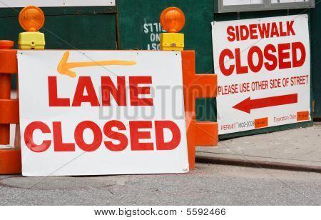 Detour Signs
