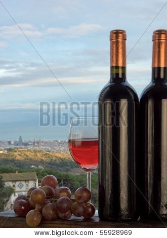 Barcelona And Wine