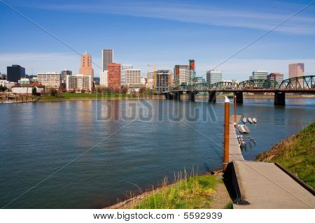 Portland downtown (Oregon state)