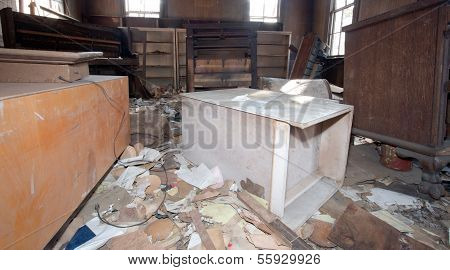 Old Trashed Room
