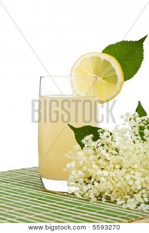 Elderberry Flower Flavored Refreshing Juice