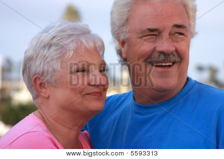Cute Older Married Couple