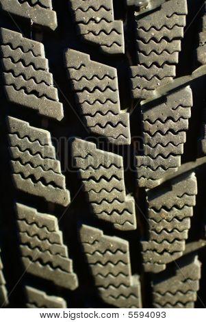 Detail, Snow Tire Tread