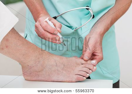 Injection To Bunion