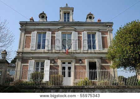 Val D Oise, The City Hall Of Wy Dit Joli Village