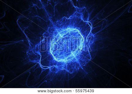 Blue Energy Oval