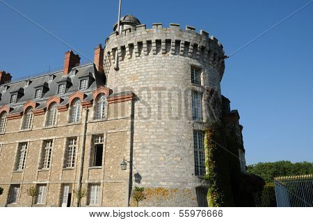 France, The Castle Of Rambouillet In Les Yvelines