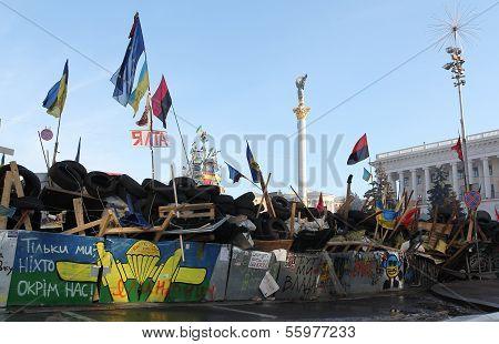 Protests in Kiev. Ukraine