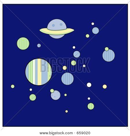 Pastel Space-scape