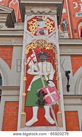 Saint Maurice. House Of Blackheads, Riga, Latvia