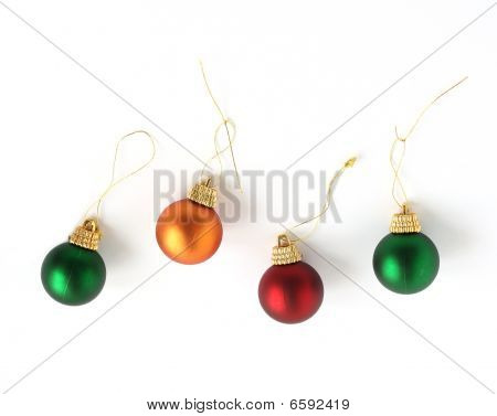 Christmas Tree Mini Bauble Decorations