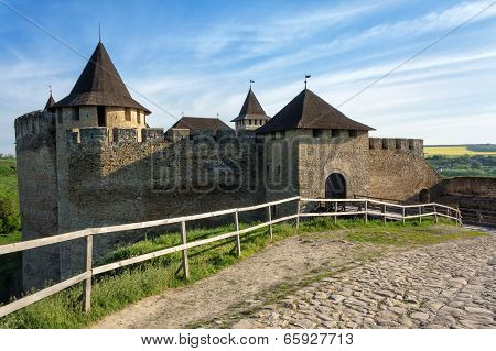 Old Medieval Castle In Khotyn, Ukraine