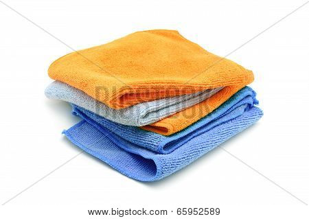 Cleaning Towels pile