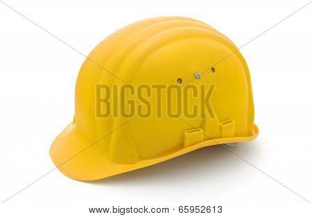 Yellow Protection Helmet