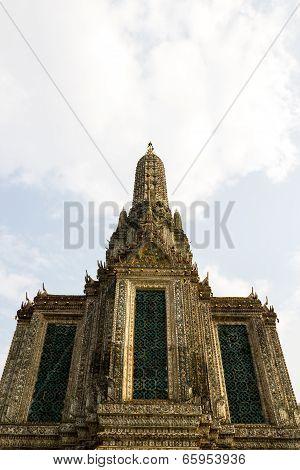 Wat Arun wat arun ratchawararam in Bangkok Thailand poster