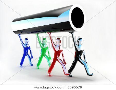 Futuristic Pipe