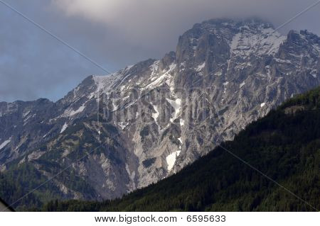 Alpine landscape near Salk pass in Austria Europe poster