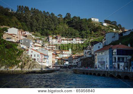 Cudillero in Asturias