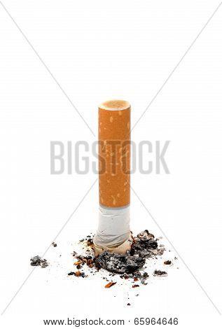 Cigarette Butt Unhealthy Life Style