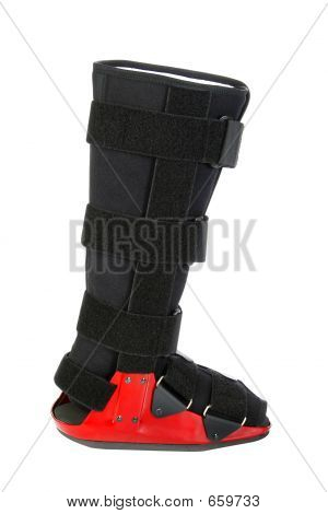 Modern Cast For A Broken Leg