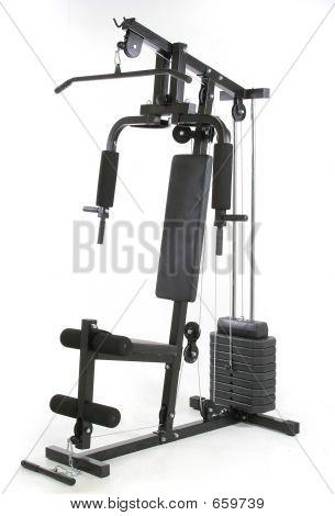 Fitness-Studio und Muskel-Maschine