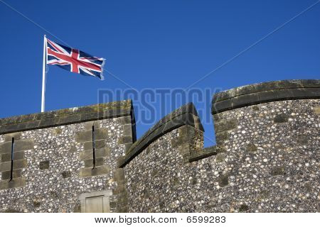 Union Flag Flying