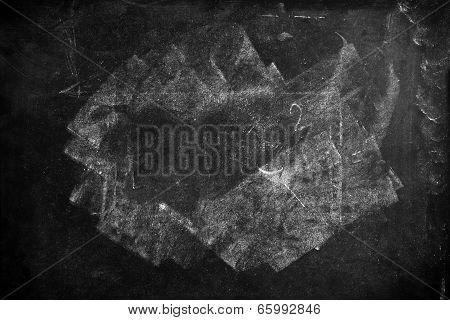 School Blackboard Texture As Education Background