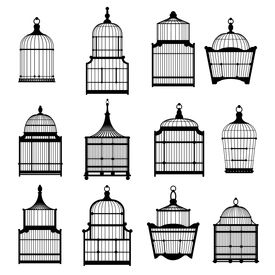 set birdcages collection