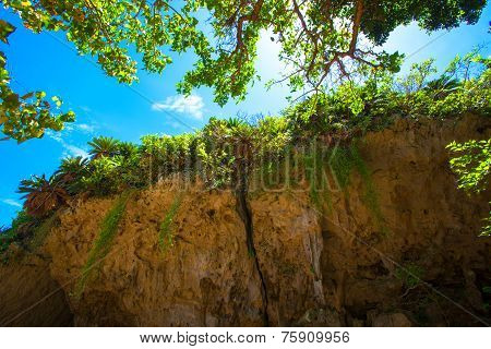 World Heritage Sefa Utaki, spiritual space in Okinawa, japan