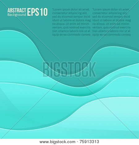 Abstract colorful light vector background. forms a smooth transition and waves. eps 10 poster