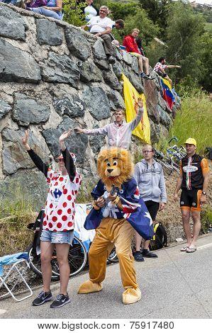 Funny Supporters Of Le Tour De France