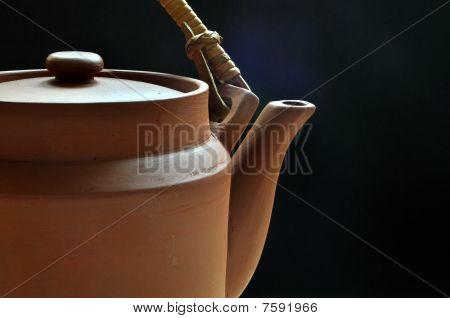 Clay Teapot