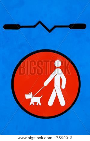 Dog Disposal Sign